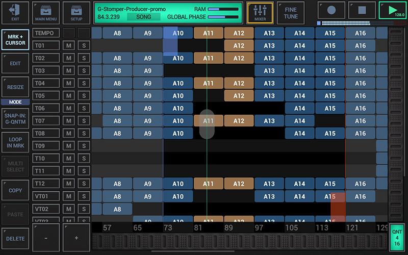 G-Stomper Producer - Multi-Track Song Arranger